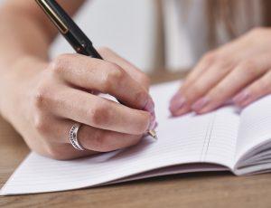 beginnen met een dagboek