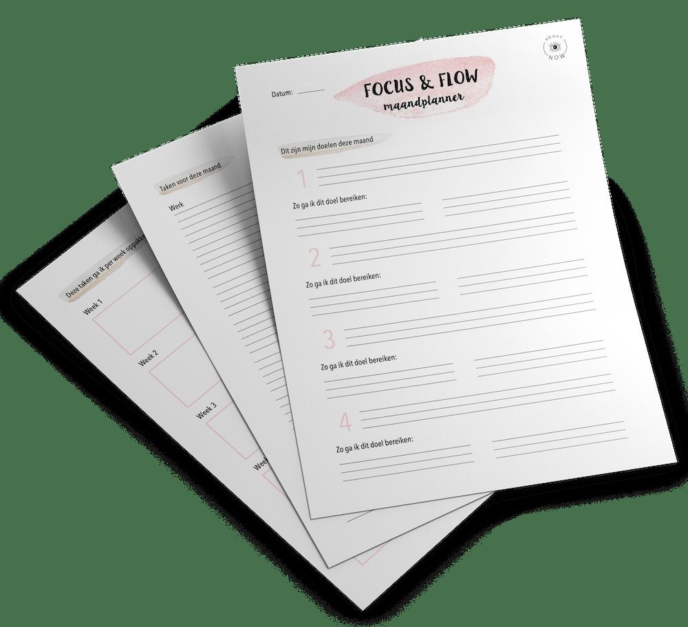 gratis maandplanner