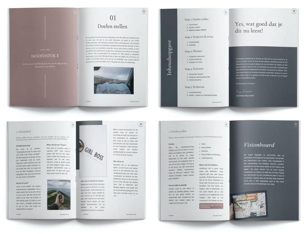 cursus plannen leesboek