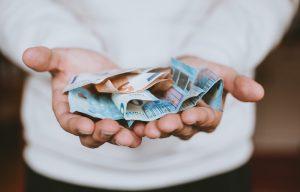 geld tekort