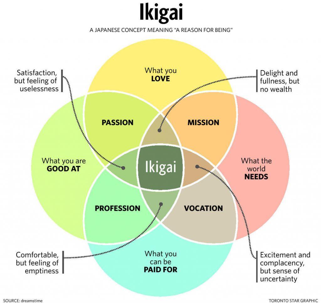 ikigai - doelgericht werken
